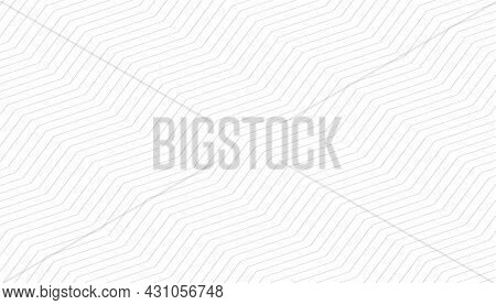 White Background With Zigzag Pattern Design Vector Illustration