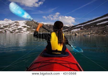 Kayak Motion Blur
