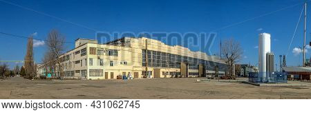 Factory Workshops In The Chernomorsk Shiprepair Yard, Ukraine
