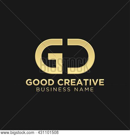Initial Letter Gc Or Cg Logo Template