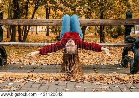 Activities For Happy Fall, Improve Yourself, Ways To Be Happy And Healthy Autumn. Embrace Life, Happ