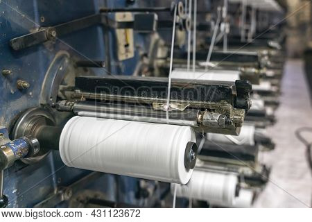Production Of Polypropylene Yarn For Making Bags.