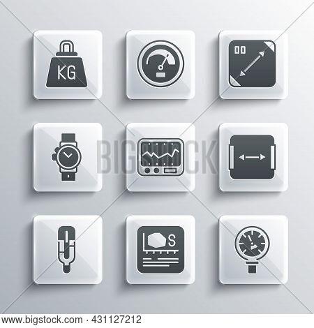 Set Area Measurement, Pressure Water Meter, Measuring Instrument, Medical Thermometer, Wrist Watch,