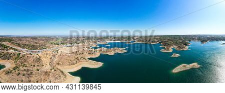 The Odeleite Dam, Located In The Municipality Of Castro Marim In The Algarve, Was Built On The River