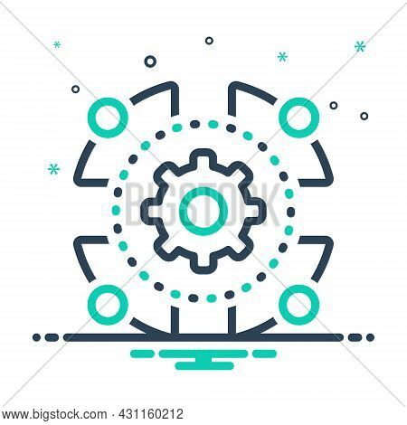 Mix Icon For Engage Infliction Setting Unity Team Community Together Integrity