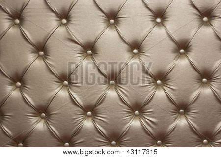 Luxurious Golden Leather Walls