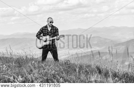 Music For Soul. Playing Music. Sound Of Freedom. Acoustic Music. Keep Calm And Play Guitar. Man Hike