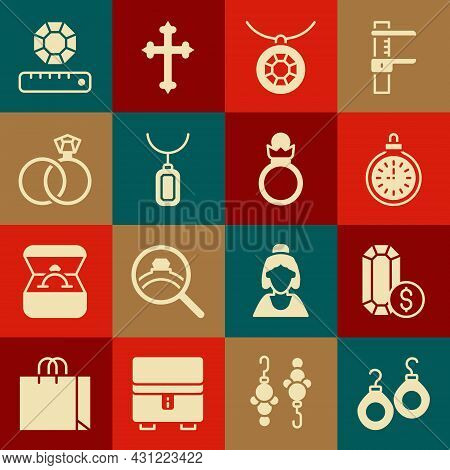 Set Earrings, Jewelry Online Shopping, Pocket Watch, Pendant Necklace, Wedding, Gem Stone And Diamon