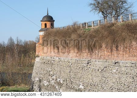 The Watchtower And The Moat In The Ancient Fortress Of Dubno, Rivne Region, Ukraine.