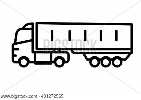 Cabover Truck Cargo Transportation Truck Or Lorry