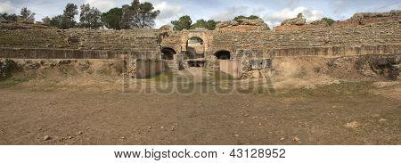 Sand Or Fossa Bestiaria Of The Merida Amphitheatre