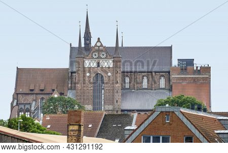St Georges Church In Wismar, A Hanseatic City In Northern Germany