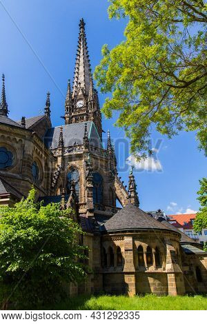 St. Peters Church Is An Evangelical Lutheran Parish Church Cathedral Alte Peterskirche Leipzig Saxon