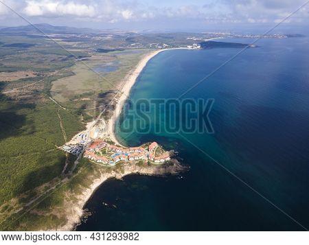 Aerial View Of Arkutino Region Near Resort Of Dyuni, Burgas Region, Bulgaria
