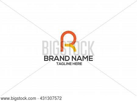 R Letter Logo Design And R Minimalist Logo Design.