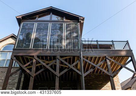 Custom Porch Architecture