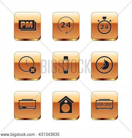 Set Clock Pm, Digital Alarm Clock, Retro Wall Watch, Smartwatch, Delete, Stopwatch 24 Hours, And Ico