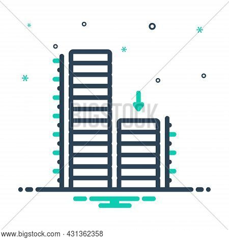Mix Icon For Relatively Building Architecture Approximately Comparatively Rather Almost Nearly