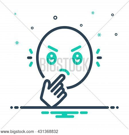 Mix Icon For Wonder Think Guess Question Thought Amazing Lovely Delightful Fabulous Emoji Face