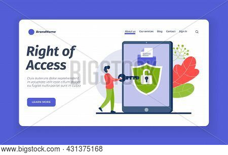 Correct Access To Account. Password And Digital Protection Of User Data. Registration With Multileve