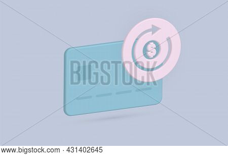 Subscription Automatic Payments On A Schedule Modern Flat Vector Icon Concept. Monthly Or Annual Sch