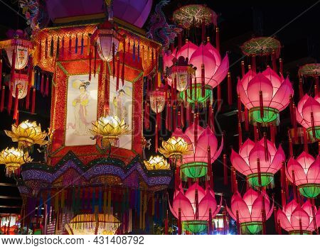 Chinese Lantern For Chinese New Year And Mid Autumn Festival Celebration