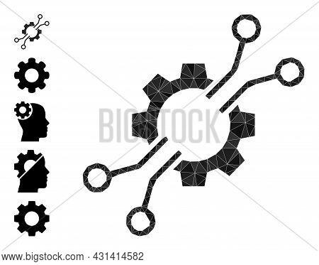 Triangle Electronic Mechanics Polygonal Symbol Illustration, And Similar Icons. Electronic Mechanics
