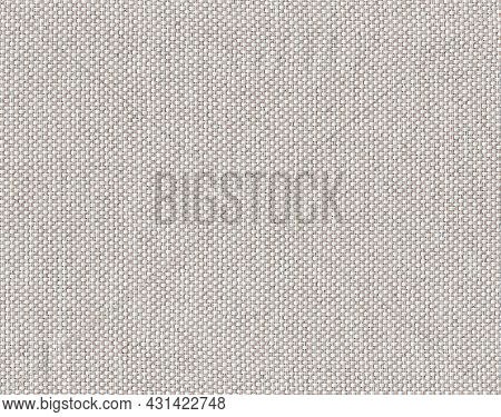 Closeup White,beige,light Brown Color Fabric Sample Texture Backdrop.white Fabric Strip Line Pattern