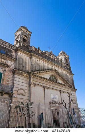 Sanctuary of Gesu Bambino. Massafra. Puglia. Italy.