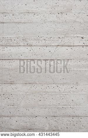 Background With A Rough Texture. White Concrete Wall. Portugal