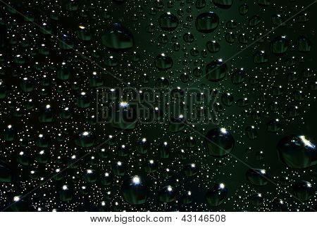 Water Drop With Down Light