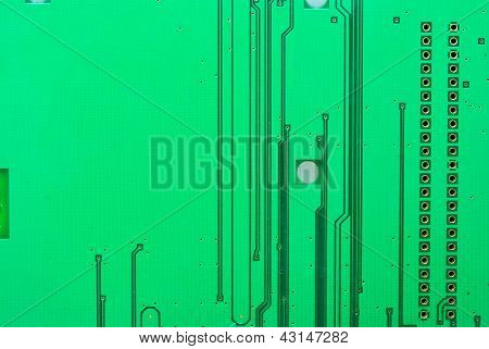 Close Up Of The Old Electronic Circuit Boards Texture Background
