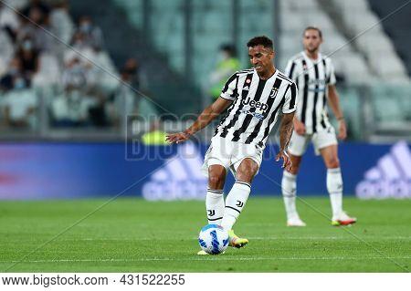 Torino, Italy. 28 August 2021. Danilo Luiz Da Silva Of Juventus Fc  Controls The Ball During The Ser