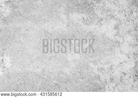 White Concrete Wall Texture Background. Building Pattern Surface Clean Polished. Abstract Close Up S