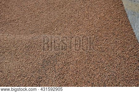 Lightweight Expanded Clay Aggregate Or Expanded Clay Is A Lightweight Aggregate Made By Heating Clay