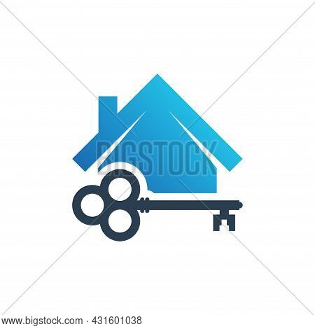 Home Security Icon. Home Vector Isolated On White Background. House Logo. House Vector. Home Protect