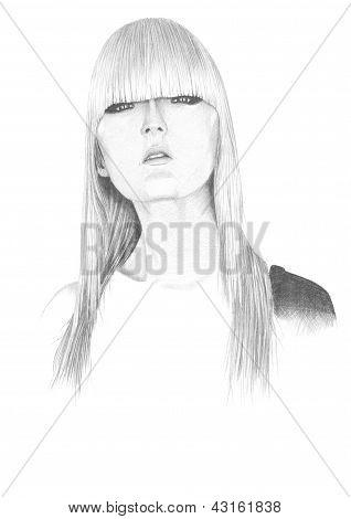 Portrait Beautiful Girl