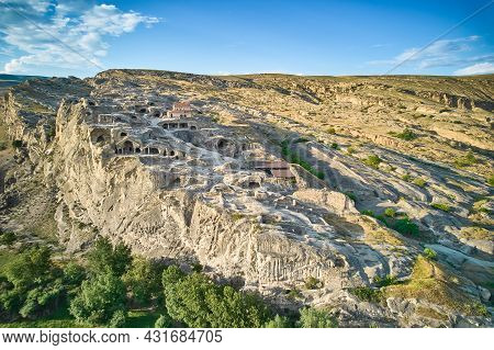 Uplistsikhe Is An Ancient Cave City, One Of The First Cities On The Territory Of Georgia.uplistsikhe