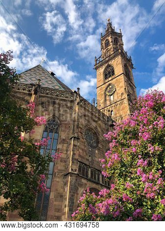 View Of Cathedral Maria Himmelfahrt: German For The Assumption Of Mary, Is The Parish Church Of The