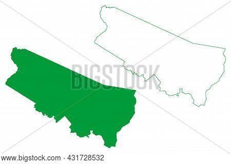 Porto Acre Municipality (acre State, Municipalities Of Brazil, Federative Republic Of Brazil) Map Ve