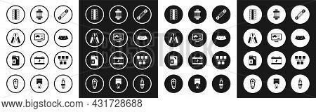 Set Shock Absorber, Diagnostics Condition Of Car, Car Battery Jumper Power Cable, Tire Wheel, Broken