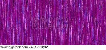 Pink Magenta Purple Striped Background With Blur, Gradient And Grunge Texture. Striped Texture. Spac
