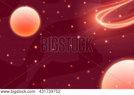 1 Space Abstract Background