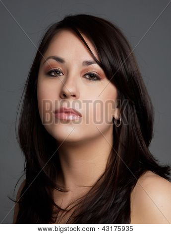 Portrait Of Hispanic Woman