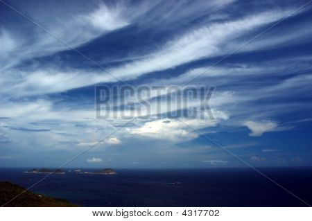 Beautiful Cloud And Blue Sky