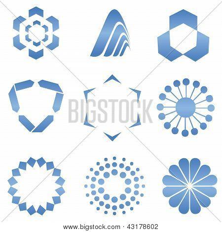 Abstract Logo Shapes