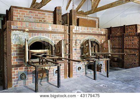 Dachau concentration camp ovens