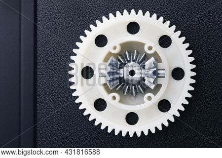 plastic gear with differential, rc car toy spare part