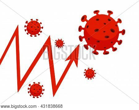 Coronavirus Disease 2019 - Ncov Vector Illustration. Coping With Difficulties