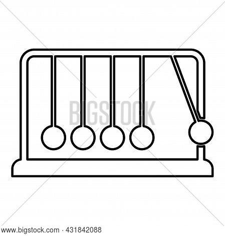 Cradle Newton Metal Metronome Newton's Balance Equipment Relax Motion Balancing Balls Pendulum Conto